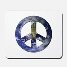 Peace on Earth design Mousepad