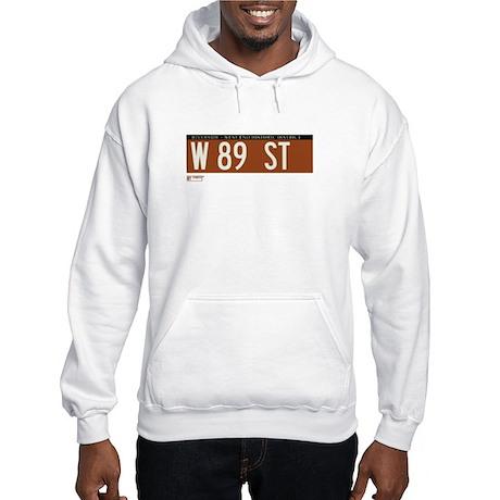 89th Street in NY Hooded Sweatshirt
