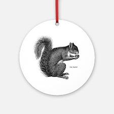 Gray Squirrel Keepsake (Round)