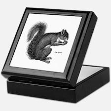 Gray Squirrel Keepsake Box