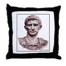 "Faces ""Augustus"" Throw Pillow"