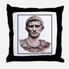 "Faces ""Augustus"" Throw Pillow"
