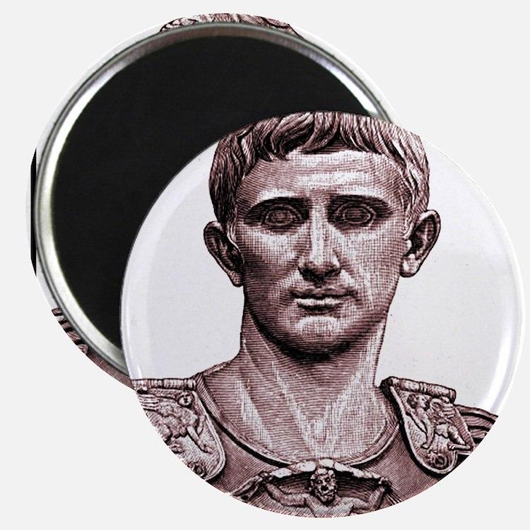 "Faces ""Augustus"" Magnet"