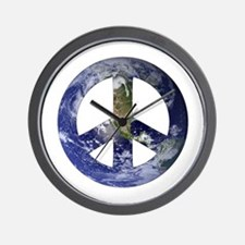 Peace on Earth... Wall Clock