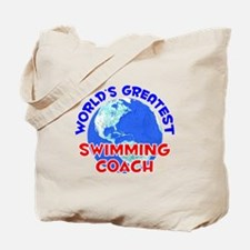 World's Greatest Swimm.. (E) Tote Bag