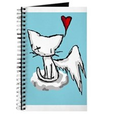 Funny Winking cat Journal