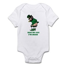 Kiss My Ass I'm Irish Infant Bodysuit