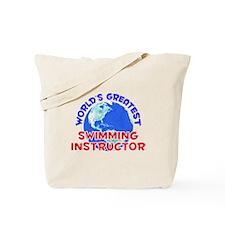World's Greatest Swimm.. (E) Tote Bag