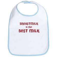 Breastmilk is best milk Bib