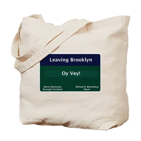 Leaving Brooklyn Tote Bag