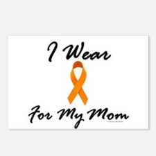 I Wear Orange For My Mom 1 Postcards (Package of 8