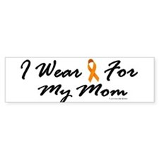 I Wear Orange For My Mom 1 Bumper Bumper Sticker
