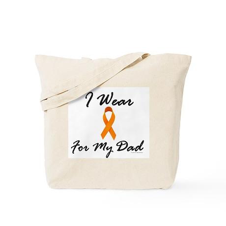 I Wear Orange For My Dad 1 Tote Bag