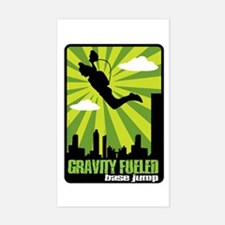 Base Jumping Rectangle Decal