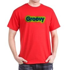 Groovy Distressed T-Shirt