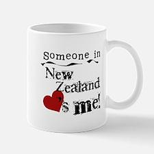 New Zealand Loves Me Small Small Mug