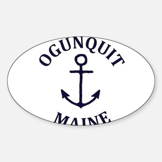 Summer ogunquit- maine Decal