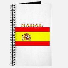 Nadal Spain Spanish Flag Journal