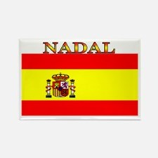 Nadal Spain Spanish Flag Rectangle Magnet