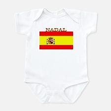 Nadal Spain Spanish Flag Infant Bodysuit