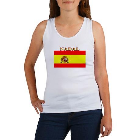 Nadal Spain Spanish Flag Women's Tank Top