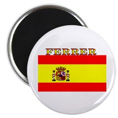 Ferrer Spain Spanish Flag Magnet