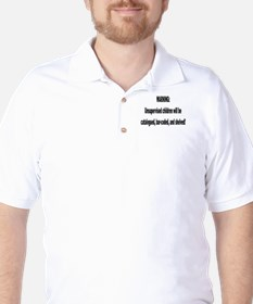 cataloged barcoded and shelve Golf Shirt