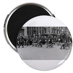 """K9 Parade 2.25"""" Magnet (10 pack)"""