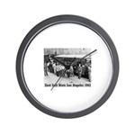Zoot Suit Wall Clock