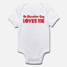 An Elevator Guy Loves Me Infant Bodysuit