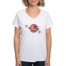 Great Blue Herons In Flight Shirt
