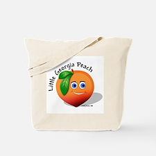 Little Georgia Peach Tote Bag