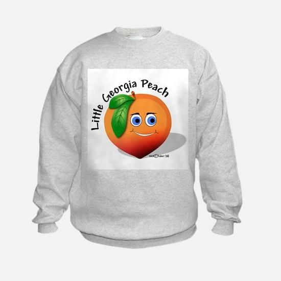 Little Georgia Peach Sweatshirt
