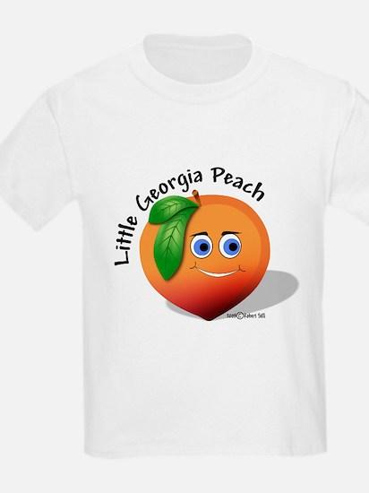Little Georgia Peach T-Shirt