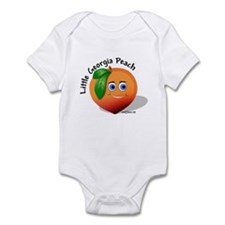 Little Georgia Peach Infant Bodysuit