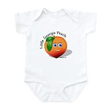 Little Georgia Peach Infant Bodysuit