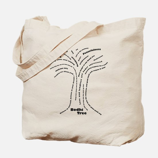 Buddha Bodhi Tree Tote Bag