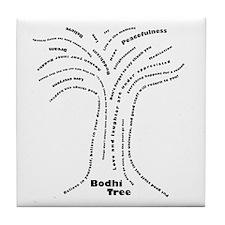 Buddha Bodhi Tree Tile Coaster