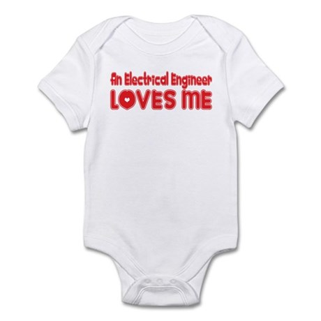 An Electrical Engineer Loves Me Infant Bodysuit