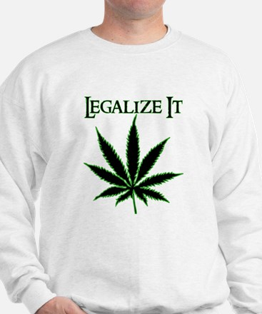 Legalize It Marijuana Jumper