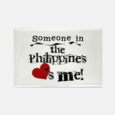 Philippines Loves Me Rectangle Magnet