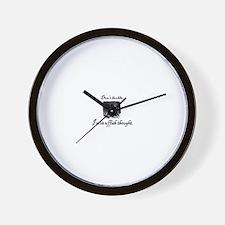 Cute Carroll Wall Clock