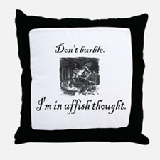 Cute Poetry Throw Pillow