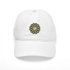 Sheltie Kaleidoscope Baseball Cap
