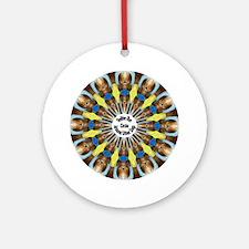 Sheltie Kaleidoscope Ornament (Round)