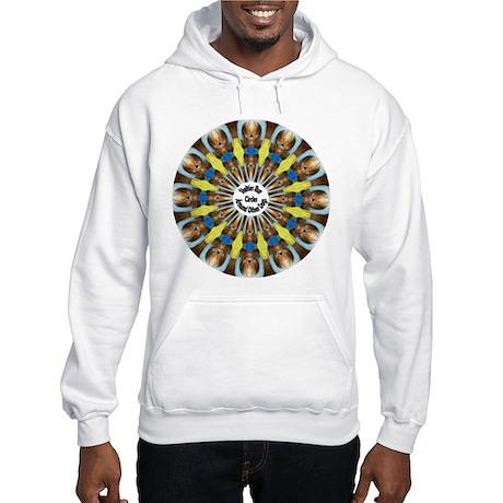 Sheltie Kaleidoscope Hooded Sweatshirt