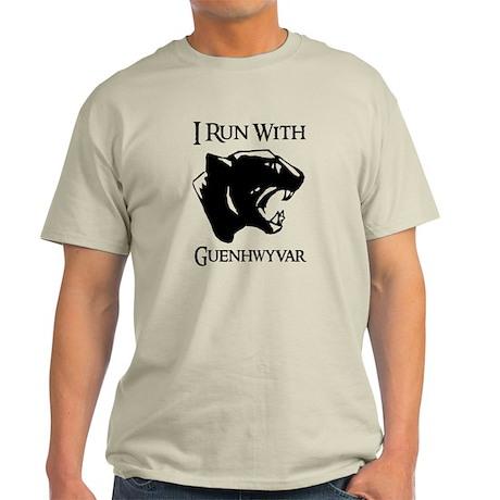 I Run With Guenhwyvar Light T-Shirt