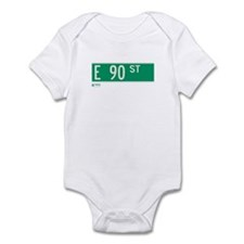 90th Street in NY Infant Bodysuit