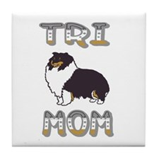 Tri Mom Tile Coaster