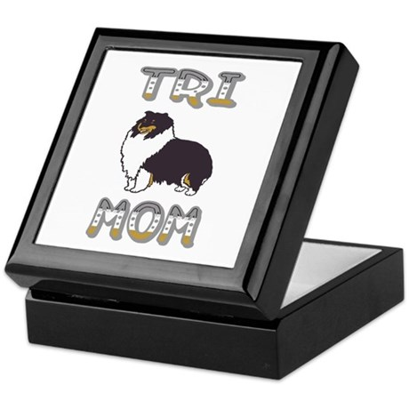 Tri Mom Keepsake Box